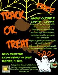 Pinecrest Track or Treat